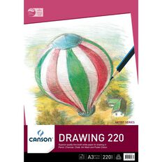 Canson Premium Drawing Pad 220gsm A3