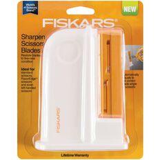Fiskars Universal Scissors Sharpener White