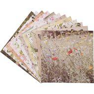 Uniti Wild Bloom Designer Paper Pad 6in x 6in