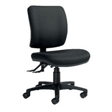 Chair Solutions Rexa Epee 2 Lever Midback Chair Black Black