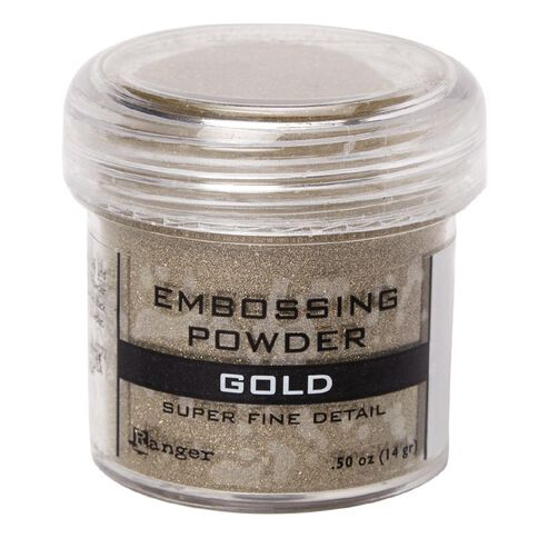 Ranger Embossing Powder Gold Super Fine