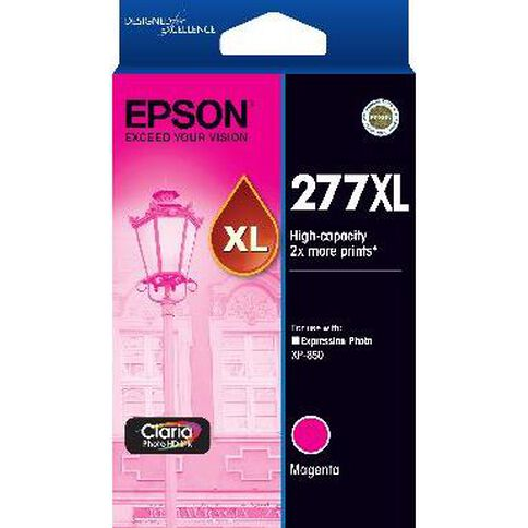 Epson Ink 277XL Magenta (700 Pages)