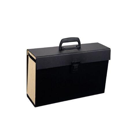 WS Concertina File 19 Pocket Black