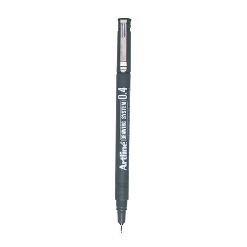 Artline Pen 234 Drawing System 0.4mm Loose Black
