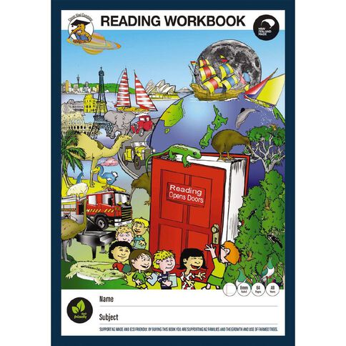 Clever Kiwi Reading Workbook