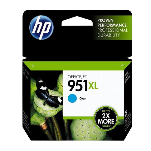 HP Ink 951XL Cyan (1500 Pages)