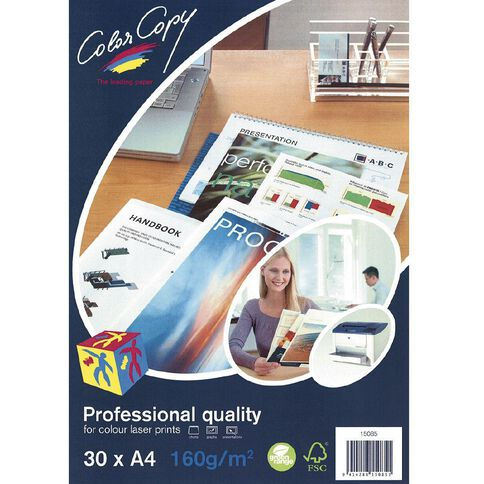 Color Copy Digital Laser 160gsm 30 Pack