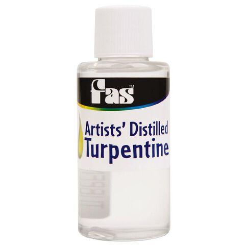 FAS Turpentine 60ml Clear 60ml