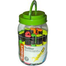 Luxor Textliter 18 Pack Multi-Coloured