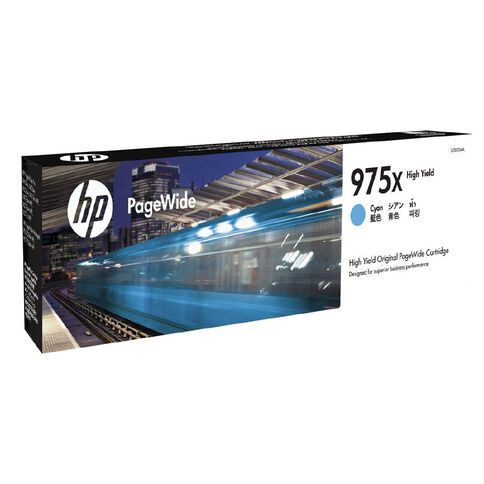 HP 975X Pagewide Cartridge Cyan (7000 Pages)