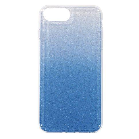 Tech.Inc iPhone 6+/7+/8+ Ombre Glitter Case Blue