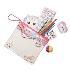 Hot Focus Colour-me Notebook Set Kitty