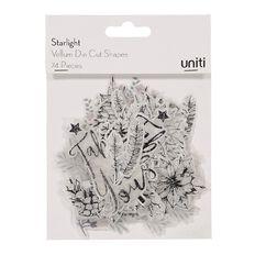 Uniti Starlight Die Cut Shapes Vellum