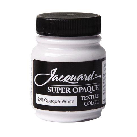 Jacquard Textile Colours 66.54ml Super Opaque White
