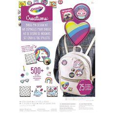 Crayola Creations Badge Pin Design Kit