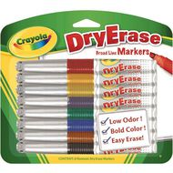 Crayola Whiteboard Markers 8 Pack