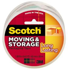 Scotch Packaging Tape Long Lasting 48mm x 50m Clear