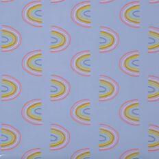 WS Book Cover Rainbow 45cm x 1m
