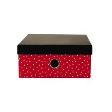 Uniti Empowerment Storage Box Red A4