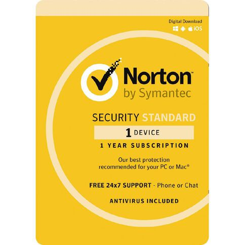 Norton Security Standard 3.0 2 Device 12 Month Subscription