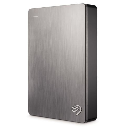 Seagate 4TB Backup Plus Portable Hard Drive Silver
