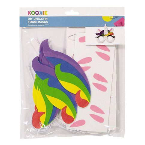 Kookie Foam Fun Glasses Accessory Unicorn 6 Pack