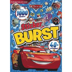Disney Pixar Cars 3 Sticker Burst