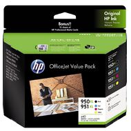HP Ink 950/951XL Office Value Pack Inkjet Matte Cards