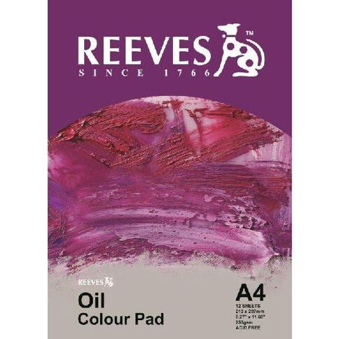 Reeves Oil Colour Pad