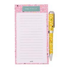 Uniti Llama To Do List With Pen