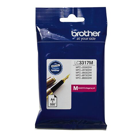 Brother Ink LC3317 Magenta (550 Pages)