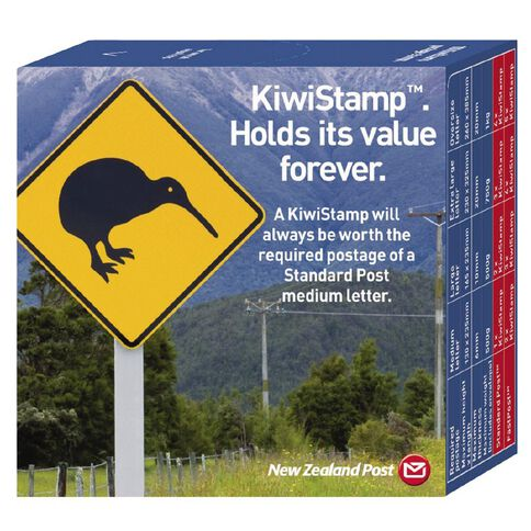 New Zealand Post Kiwistamp Dispenser Box 100 Pack