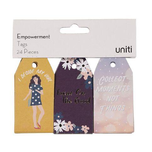 Uniti Empowerment Tag 24 Piece