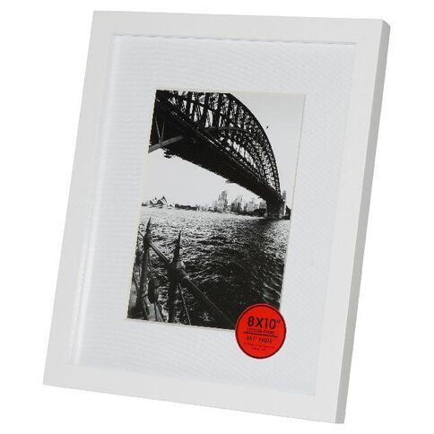 Adventure 8 x 10 Photo Frame White