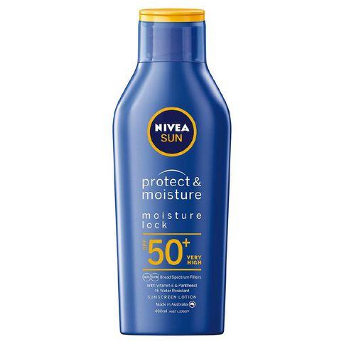 Nivea Sun Protect and Moisture Lotion SPF 50 400ml