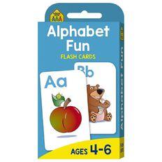 Hinkler School Zone Alphabet Fun Flash Cards
