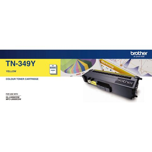 Brother Toner TN349 Yellow (6000 Pages)