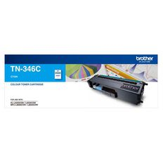 Brother Toner TN346 Cyan (3500 Pages)