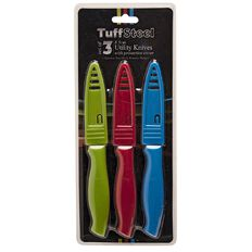 Tuffsteel Utiliity Knife 3 Piece Set