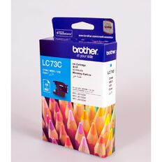Brother Ink LC73 Cyan (600 Pages)