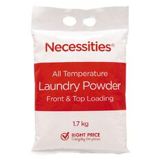 Necessities Brand Laundry Powder Bag 1.7kg