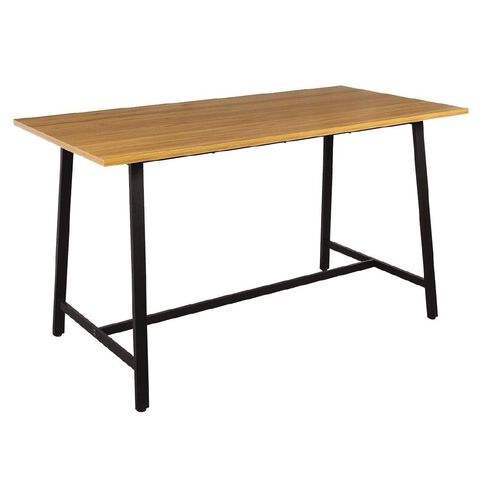 Workspace Studio Meeting Table Oak/Blk