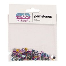 U-Do Gemstones Multi-Coloured 140 Pack