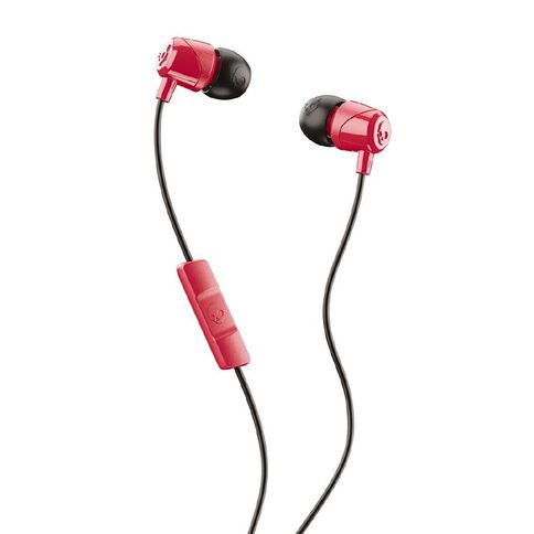 Skullcandy Jib Earbuds with Mic Red