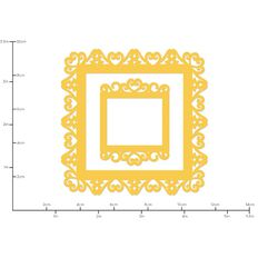 Kaisercraft Decorative Dies Vintage Frame Square