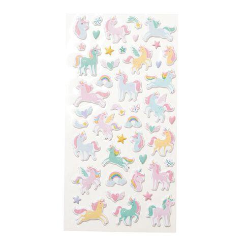Kookie Sticker Sheet Mini Squishy Assorted