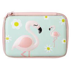 WS Hardtop Pencil Case Flamingo