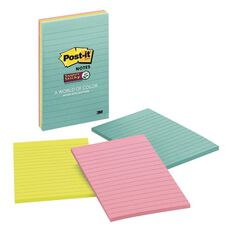 Post-It Super Sticky Notes Miami Collection 3 Pack