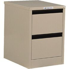 Precision Classic Filing Cabinet 2 Drawer Dune Beige