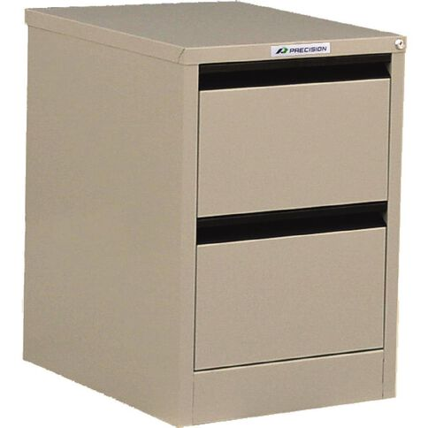 Precision Classic Filing Cabinet 2 Drawer Dune